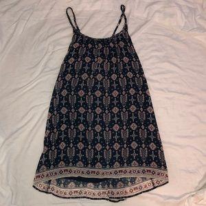 Hollister navy patterned Dress